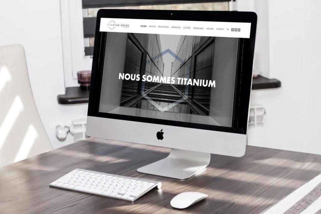 TITANIUM SWISS GROUP LANCE SON NOUVEAU SITE WEB DÉVELOPPÉ PAR RELEVANCE