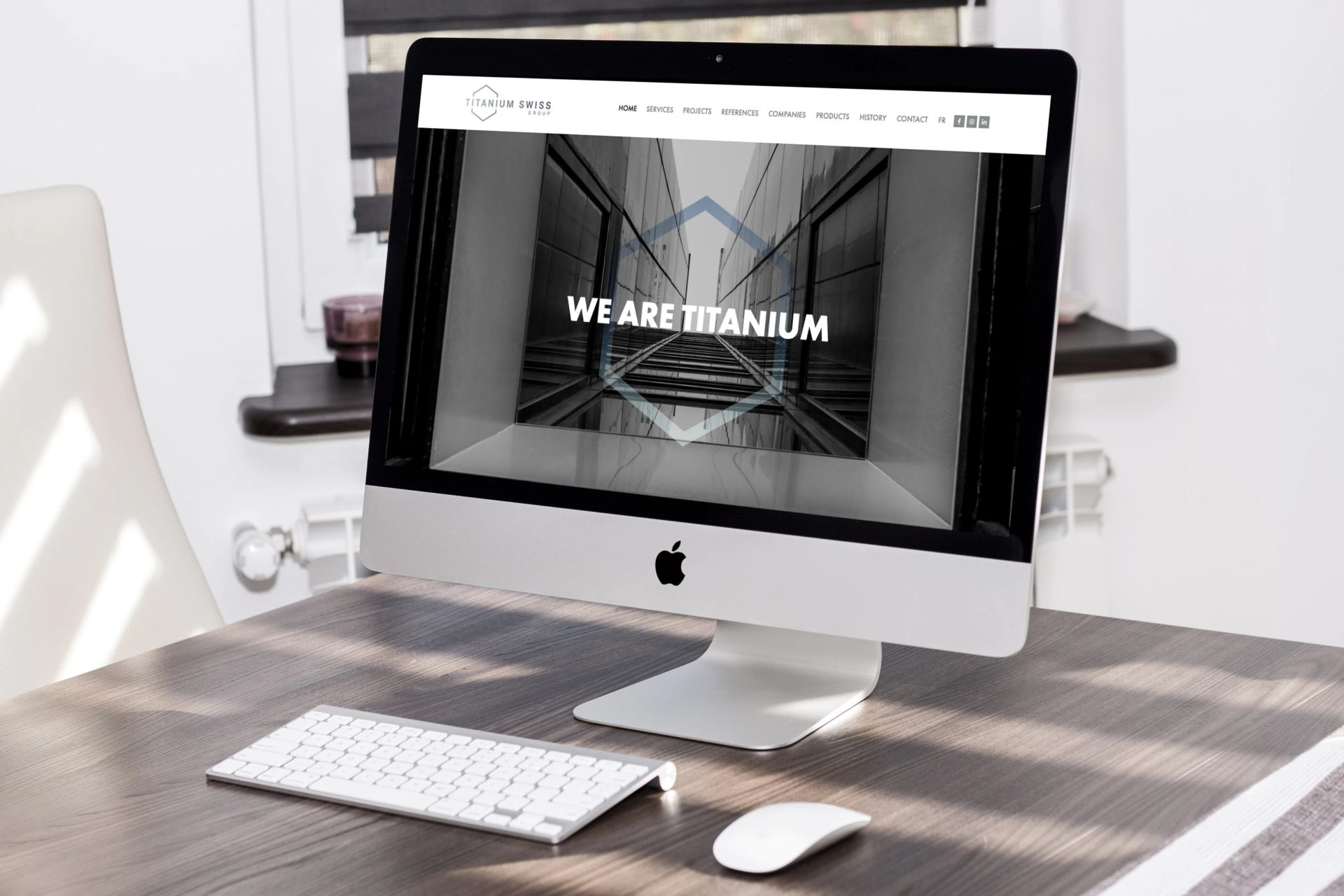 Titanium Swiss Group Lancement site